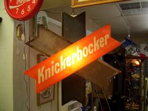 Knickerbocker Lighted Beer Sign in Warner Robins, Georgia