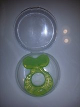 Baby teether New green in Travis AFB, California