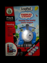 NIP LeapFrog LeapPad Educational Game Thomas The  Really Useful Engine Book and Cartridge in Camp Lejeune, North Carolina