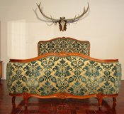French Barock Style Queensize Bedframe in Ramstein, Germany