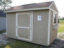 8x12 Garden Shed Storage Building Shed DISCOUNTED!! in Moody AFB, Georgia