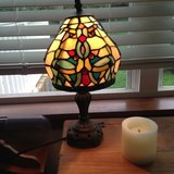 Stained glass lamp in Bolingbrook, Illinois