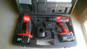 drill and flashlight set in Yucca Valley, California