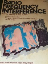 Vintage Radio Frequency Interference Manual in Naperville, Illinois