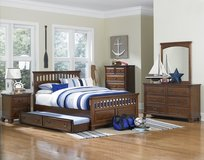 Full Size Boys Bedset - NEW MODEL (US SIZE) -monthly payments possible in Vicenza, Italy