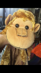 Kids costume: monkey. Ages 4-6 in Wilmington, North Carolina