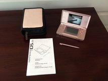 DS Lite - Rose Metallic Pink with Case in Naperville, Illinois