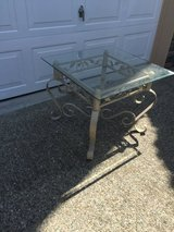 Glass coffee table table in Fort Lewis, Washington