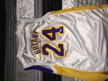White Kobe Bryant Lakers Jersey in Fort Polk, Louisiana