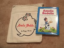 Hardcover w/dust jacket & book bag Amelia Bedelia in Okinawa, Japan