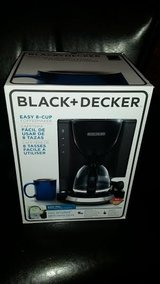 New / Black & Decker Sneak A Cup 8-Cup Coffee Maker in Fort Campbell, Kentucky
