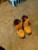 Size 11 1/2 Timberland Leather mens winter boots in Cleveland, Ohio