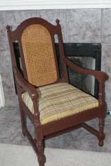 Cane Back Spring Seat Chair in Houston, Texas
