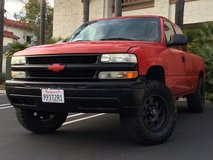 2002 Chevy Silverado Lifted in Camp Pendleton, California