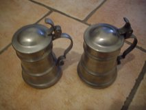 2 Pewter mugs with lid in Ramstein, Germany