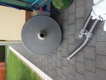 Sun Garden Parasol size 400 with stand   in grey very big and nice and very good condition in Ramstein, Germany