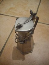 Nice Pewter carafe with chain in Ramstein, Germany