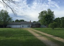 4 bedroom 2 1/2 bath house in peaceful setting on paved road 13 miles from FLW in Fort Leonard Wood, Missouri