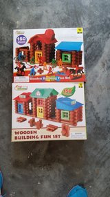 2 Boxes Generic Lincoln Logs in Beaufort, South Carolina