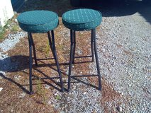 2 matching very comfy bar stools in Cherry Point, North Carolina