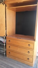 Armoire TV Cabinet/ Dresser Drawers in Yucca Valley, California