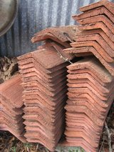 Old Red Clay Tiles in Conroe, Texas