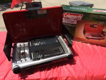 FATHER'S DAY Gift - Coleman Camping Grill / Stove in Warner Robins, Georgia