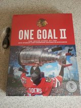 Blackhawks One Goal II 2 book and 17 seconds movie Brand NEW in cellophane! in Lockport, Illinois