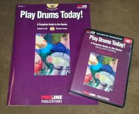 Proline Play Drums Today Book/CD/DVD in Batavia, Illinois