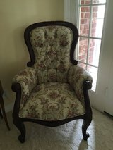 Antique Look Living Occasional Chair in Kingwood, Texas