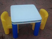 Little Tikes Table and Two Chairs in Elgin, Illinois