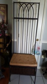 Entryway coat storage rack in Naperville, Illinois