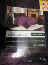 Full/queen quilt set. New in Camp Lejeune, North Carolina