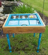 Shadow box window accent table in Morris, Illinois