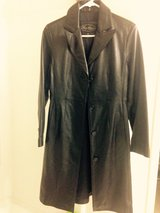 Black Leather Jacket (Young Woman-Great for a teen) - worn at least twice in Fort Carson, Colorado