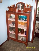 Oak Small China Cabinet in Fort Riley, Kansas