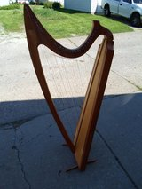 For Sale: Harp, Hand Made, $500.00 Cash, Or Reasonable cash offer. My location Moline, Illinois... in Quad Cities, Iowa