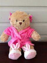 BUILD A BEAR Teddy Bear with Slippers and Robe in Glendale Heights, Illinois