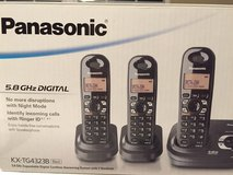 Panasonic digital cordless phone with answering system in Lockport, Illinois
