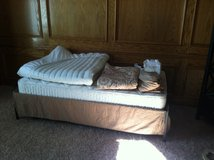 Trundle Bed with Sealy Mattress and Extras in Kansas City, Missouri