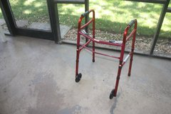 Folding Walker with 2 Wheels by Medline in Aurora, Illinois