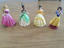 Princess figures in Fort Bliss, Texas