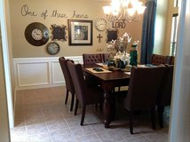 Dining Table & 8 Chairs in Alvin, Texas