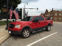 2008 RED Ford F-150 4x4 Supercrew in Fort Carson, Colorado