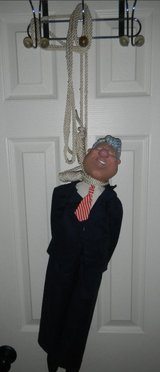 "Large 27"" Bill Clinton Draft Evader Doll w/ Hanging Noose *NO HILLARY* in Kingwood, Texas"
