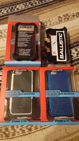 4- Ballistic SG Maxx Cases + Holster for iPhone 5 & 5s New in Box in Fort Leonard Wood, Missouri