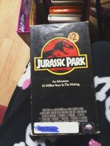 vhs jurassic park in Fort Campbell, Kentucky