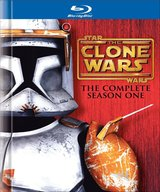 Star Wars: The Clone Wars - The Complete Season One DigiBook Blu Ray in Okinawa, Japan