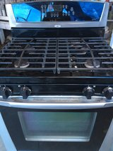 STOVE ( Gas ) Black STAINLESS STEEL in Camp Pendleton, California