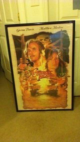 Cutthroat Island framed movie poster in Fort Campbell, Kentucky